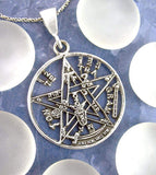Occultish Tetragrammaton Pentacle Necklace | woot & hammy thoughtful jewelry