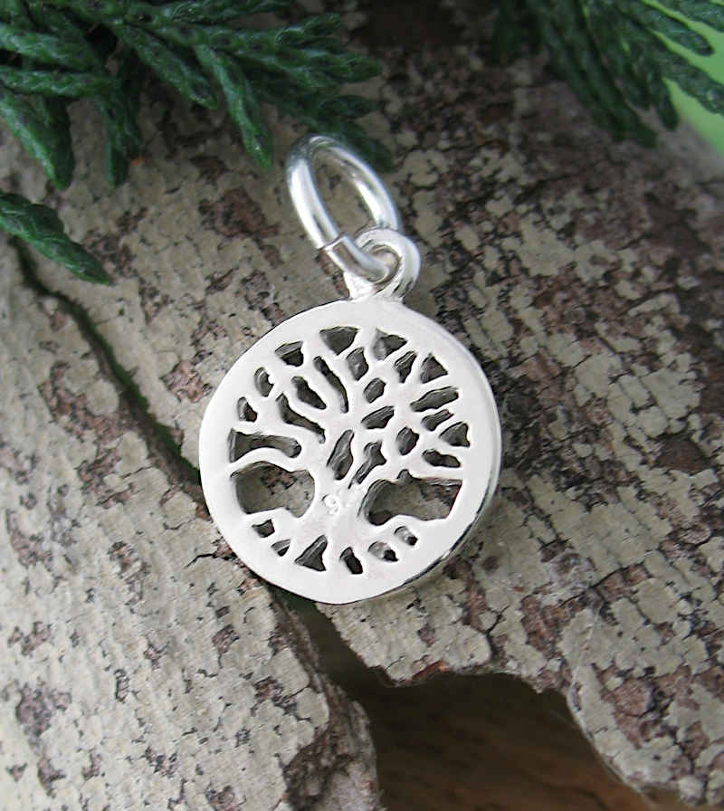 Mini Cut-Out Tree of Life Charm / Pendant | Woot & Hammy
