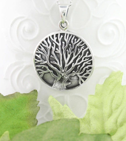 Strong Tree of Life Medallion Necklace - woot & hammy