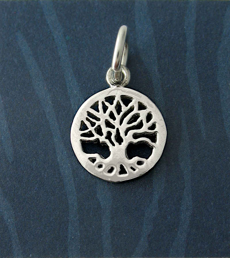 Mini Cut-Out Tree of Life Charm