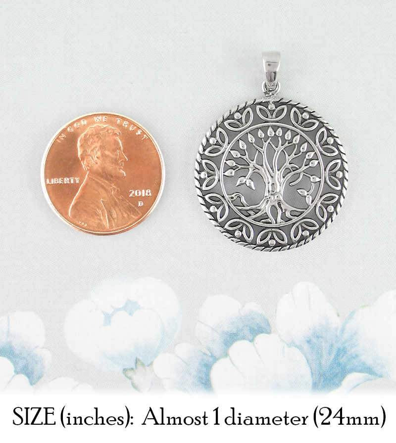 Tree of Life Medallion Pendant