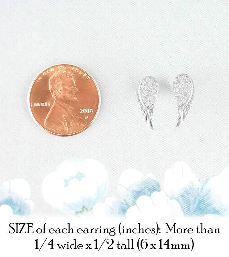 Radiant Angel Wing Earrings