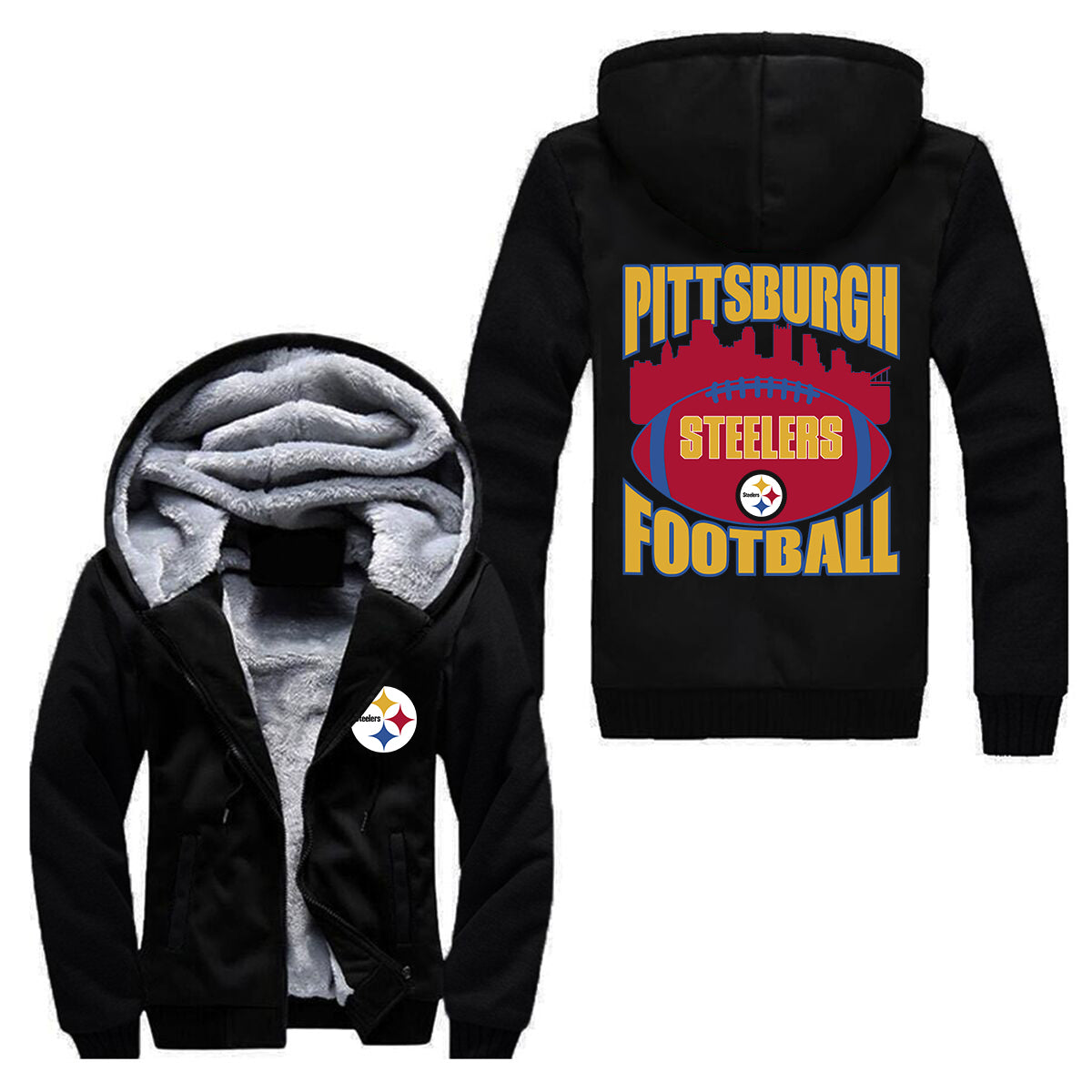 STEELERS HOODIE (MEN/WOMEN)