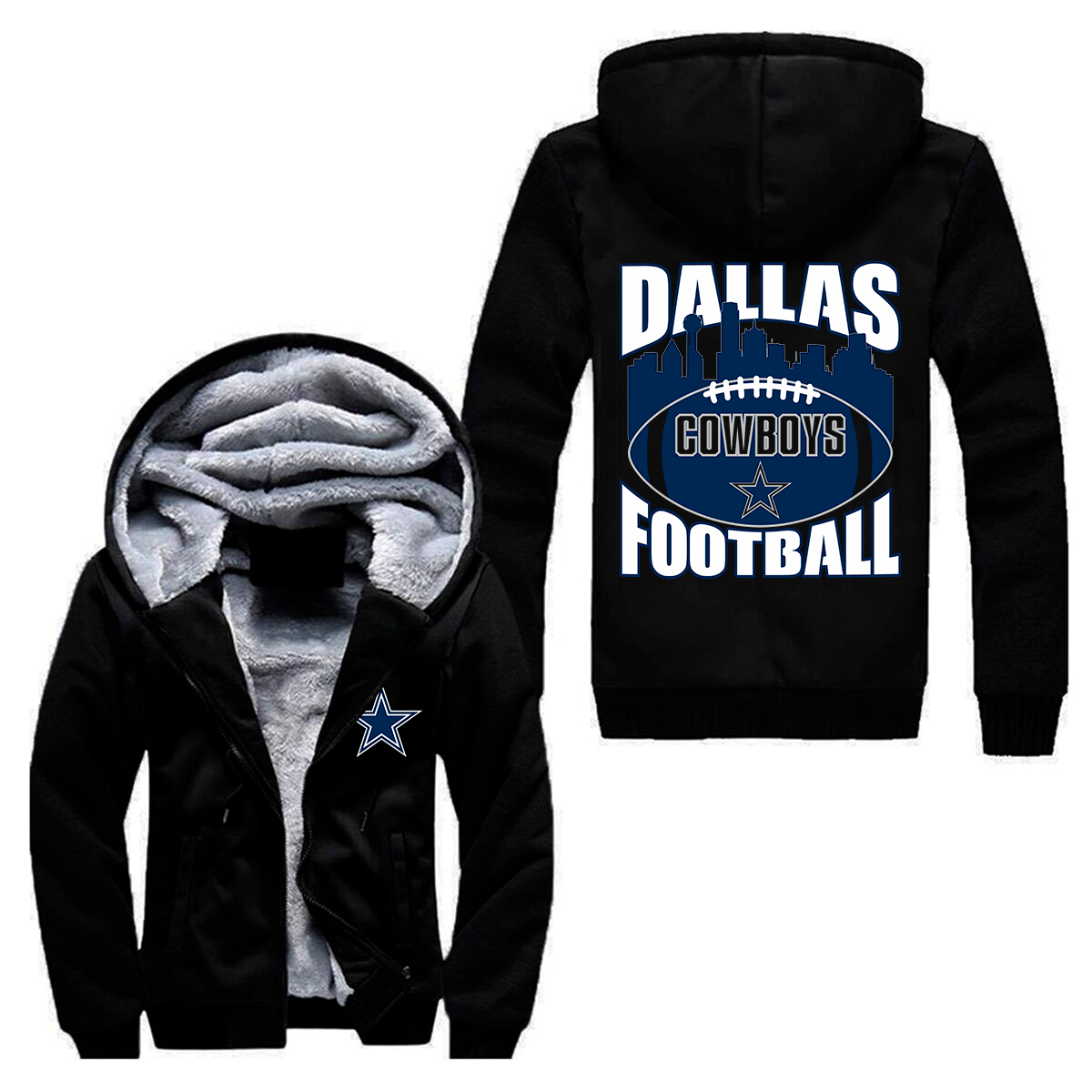 COWBOYS HOODIE (MEN/WOMEN)