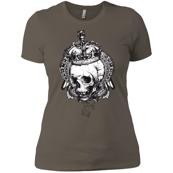 Crown and Skull