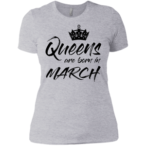 Queens are born in March - koolshopp