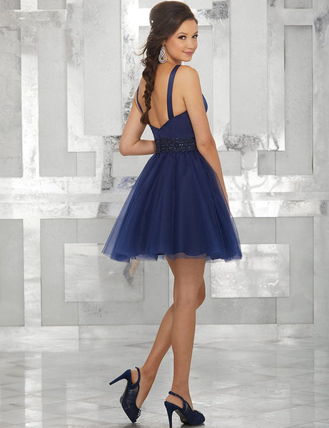 A-Line Homecoming Dresses Beaded Sweetheart Sequins Graduation Party Gowns