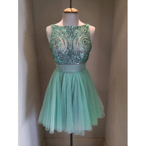 Beading Homecoming Dress,Chiffon Homecoming Dress, Cute Homecoming Dress