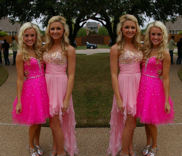 Sweetheart Homecoming Dress,Sequin Homecoming Dress,Beaded Homecoming Dress