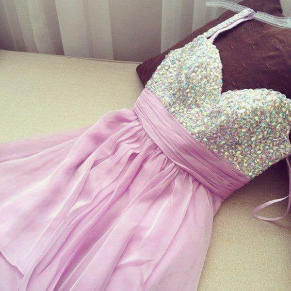 Pink Homecoming Dress,Lovely Homecoming Dresses