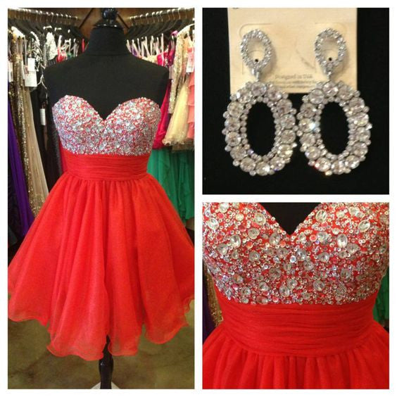 Homecoming Dresses, Red Homecoming Dress