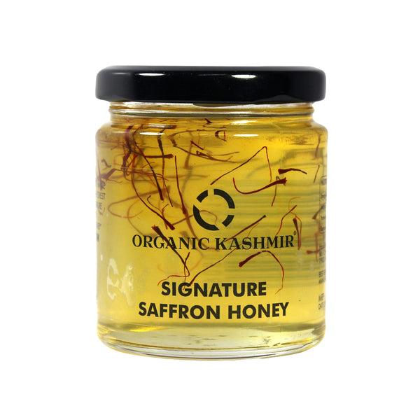 Saffron Organic Honey