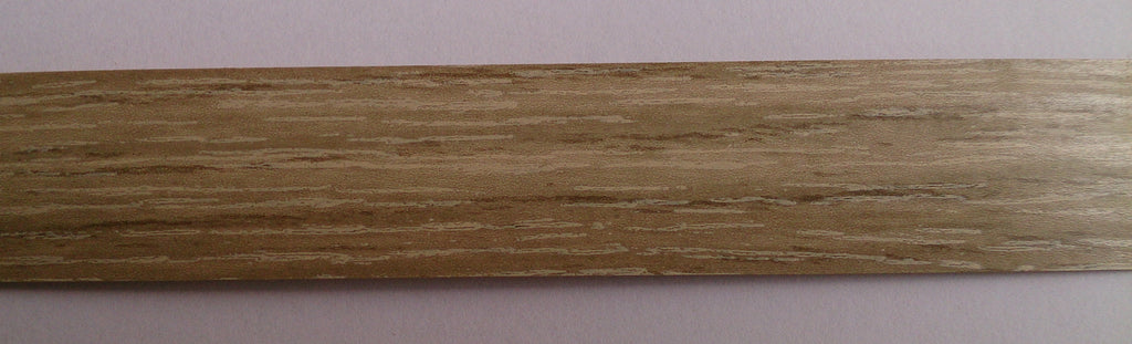 PVC Edging Unglued Grey Bardolino Oak 22mm x 0 8mm x 150m