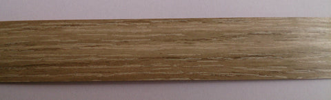 PVC Edging Unglued Grey Bardolino Oak 22mm x 0.8mm x 150m