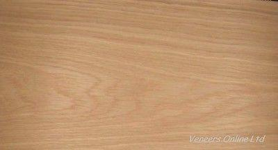 IRON-ON OAK PRE GLUED WOOD VENEER 2 SHEETS 2500mm x 300mm