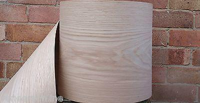 Iron-on Pre-Glued White Oak Wood Veneer Sheet 2.5m x 300mm Quantity Discounts