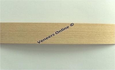Light Maple 22mm Wide Iron on Melamine Edging