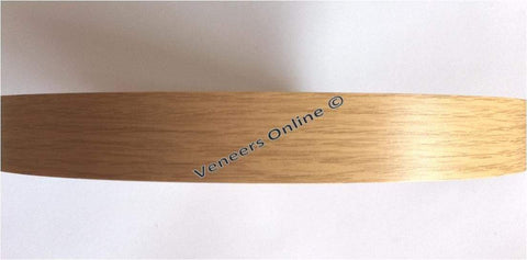 Light Oak / Montana Oak 48mm Wide Iron on Melamine Edging