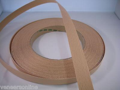 STEAMED BEECH Real Wood Edging 30mm