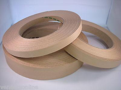 STEAMED BEECH Real Wood Edging 50mm