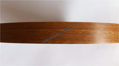 Teak / Natural Walnut 70mm Wide Iron on Melamine Edging