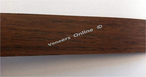 Tobacco Walnut 70mm Wide Iron on Melamine Edging