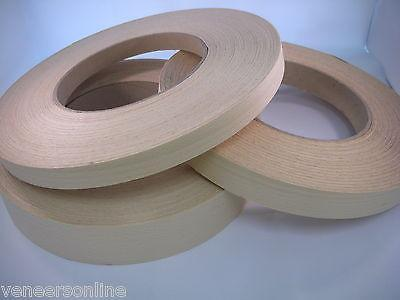 WHITE BEECH Real Wood Edging 30mm