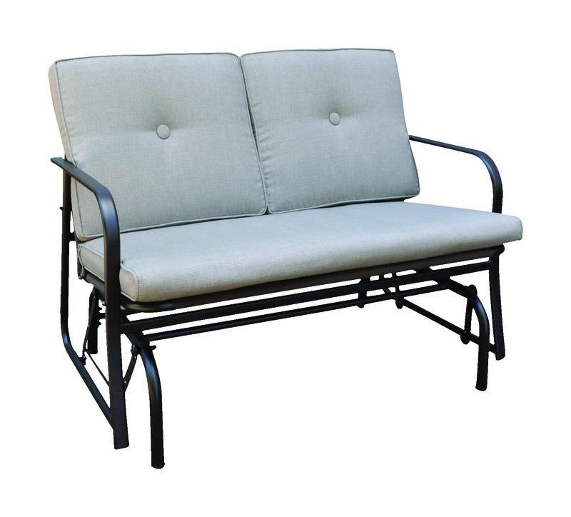 Living Accents  2 person  Steel  Jefferson  Glider  Gray