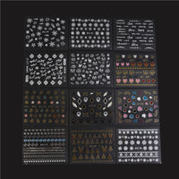 New 30 Sheets 3D Design Nail Art Sticker - Ezy Buy Outlet