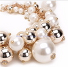Image of Gold Chain White Pearl Necklace - Ezy Buy Outlet
