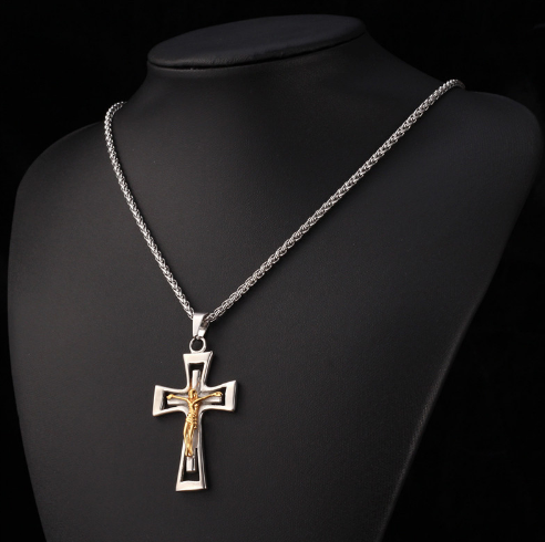 Cross Pendant Necklace - Ezy Buy Outlet