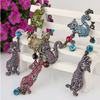 Image of Colorful Lovely Cat Family Necklace - Ezy Buy Outlet