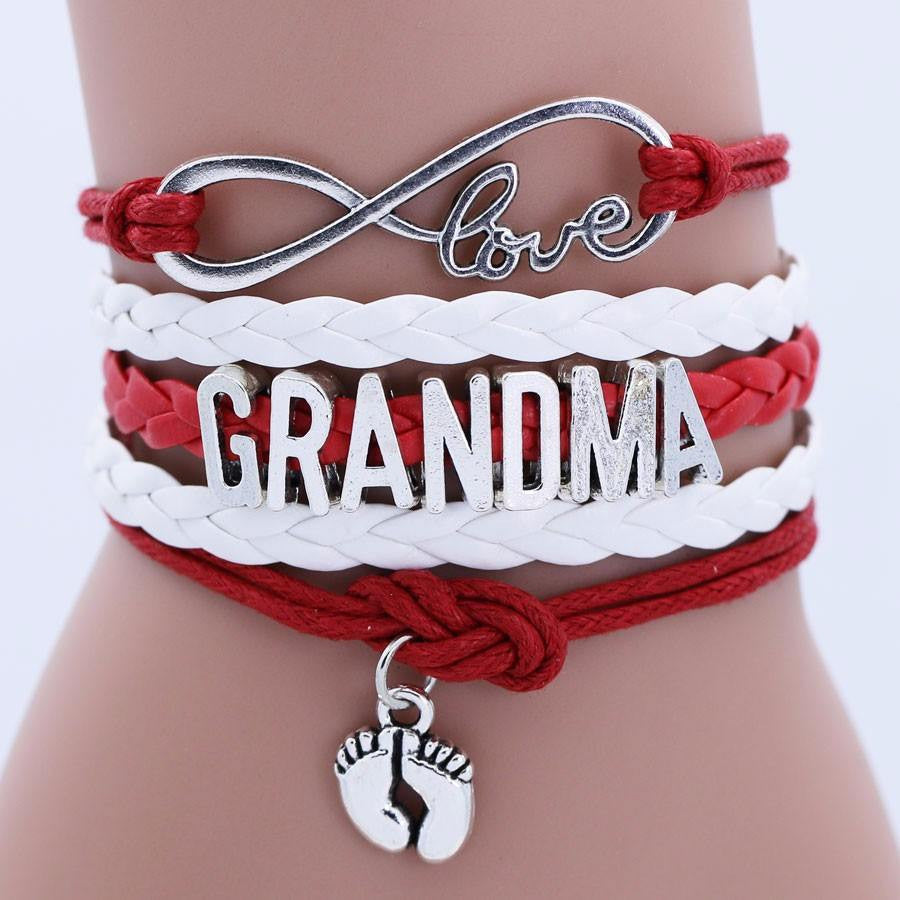Love Grandma Bracelet Jewelry Multi-layer Weaving - Ezy Buy Outlet