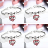 "Family Connection Jewelry - ""Love Sister"" Bracelet Jewelry With 4 Attractive Choices"