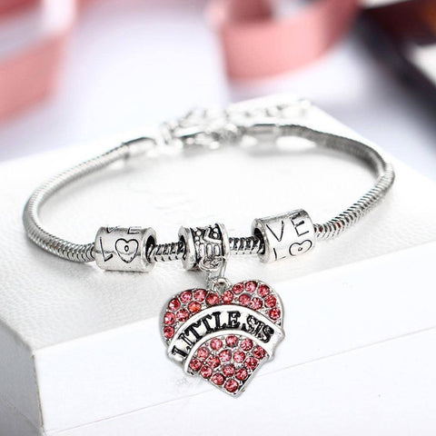 """Love Sister"" Bracelet Jewelry with 4 Attractive Choices - Ezy Buy Outlet"