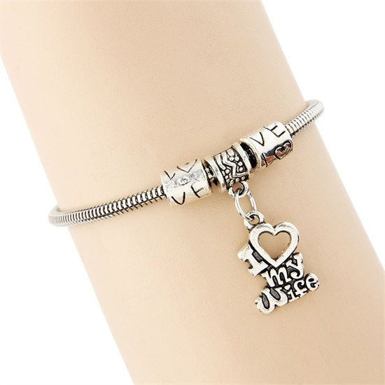 Unisex Love Bracelet for 10 Family Relationships including Pets - Ezy Buy Outlet