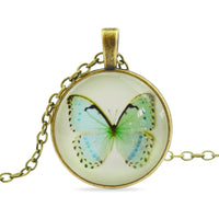 General Fashion Jewelry - Beautiful Fashion Butterfly Pendant Necklace - 7 Exquisite Designs To Choose From