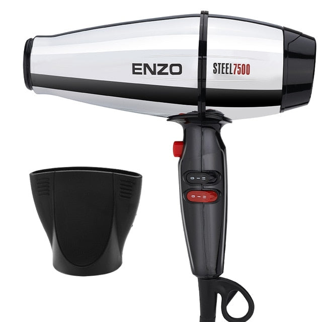 ENZO Professional Hair Dryer Brush 8000W Negative Ionic Blow Dryer Hair Brush Powerful Salon Hairdryer Diffuser for Hair Dryer