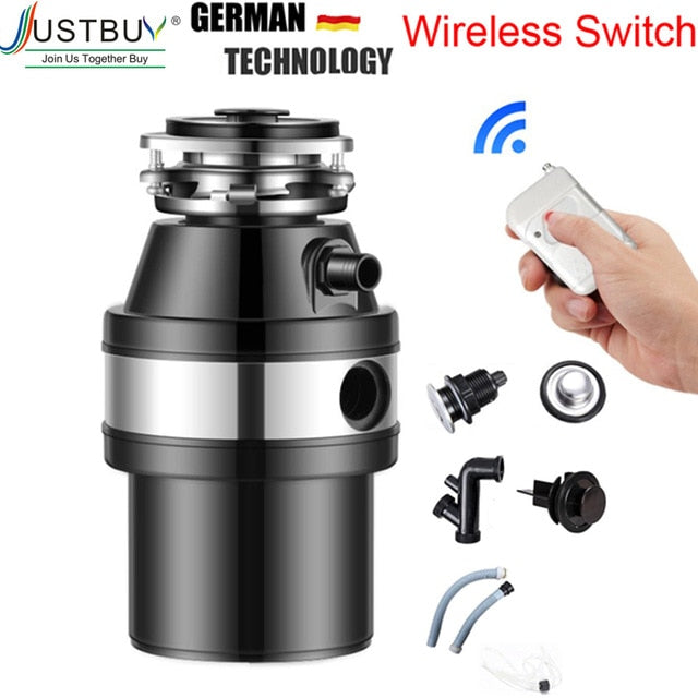 German Technology Food Waste Disposers chopper kitchen garbage disposal food crusher Stainless steel Grinder material