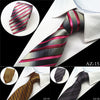 Image of Classic Striped Business Silk Tie For Men - Ezy Buy Outlet