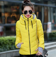 Ladies Fashion Winter Jacket -  Padded Parka Overcoat - Ezy Buy Outlet