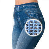 Women's Fitness Legging Jeans with Pocket - Ezy Buy Outlet