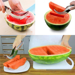 Watermelon Slicer - Kitchen Tool Stainless Cutter - Ezy Buy Outlet