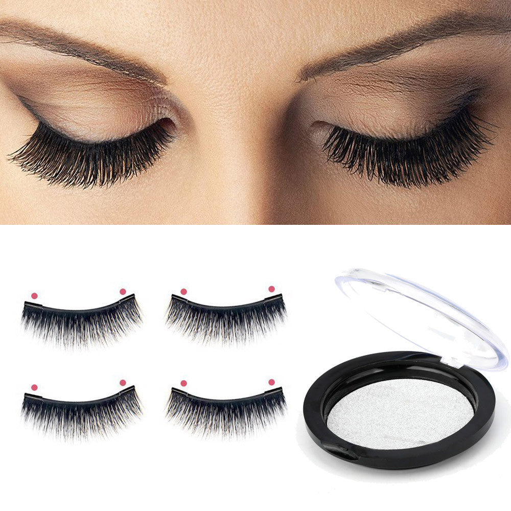 NEW Ultra-thin 0.2mm 3D Reusable Magnetic Eye Lashes - Ezy Buy Outlet