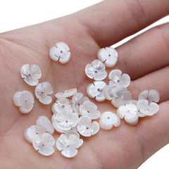 Mother Of Pearl Shell Flower Beads - Ezy Buy Outlet