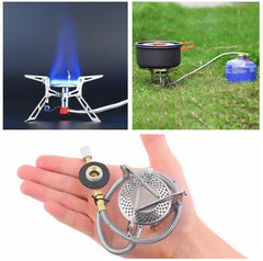 Stainless Steel Camping Gas Stove - Ezy Buy Outlet
