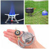 Image of Stainless Steel Camping Gas Stove - Ezy Buy Outlet