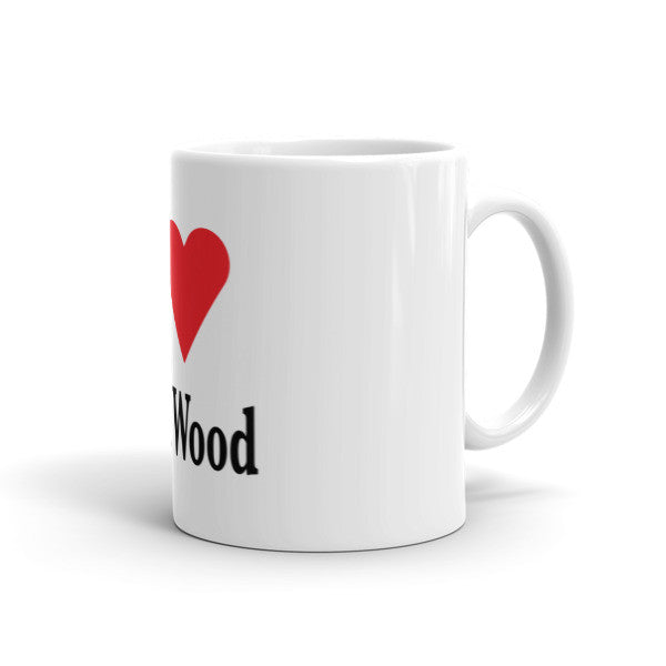 I Love Balsa Wood Mug
