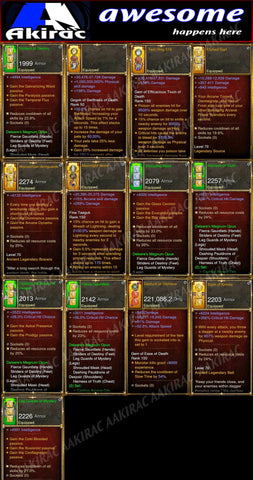 Affordable Delsere Magnum Opus Wizard Set for GRIFT 150-Diablo 3 Mods - Playstation 4, Xbox One, Nintendo Switch