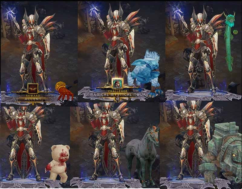 2.5.0 Pet Bundle (6x)-Diablo 3 Mods - Playstation 4, Xbox One, Nintendo Switch